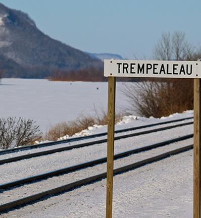 Trempealeau town sign