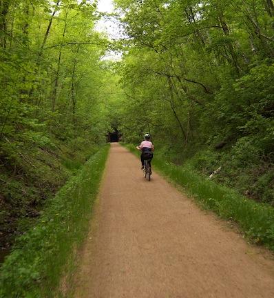 Monroe County Sparta Elroy Bike Trail